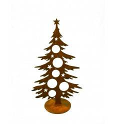 Holz Tannenbaum Groß.Weihnachtsbaum Metall Mit Rostpatina Kaufen Metallmichl