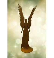 Rost Engel Celeste aus 3 mm Stahl, Höhe 87 cm