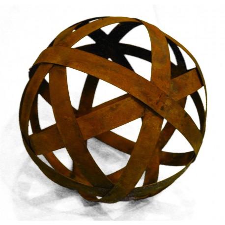 Kugel Ø30cm aus Blechstreifen