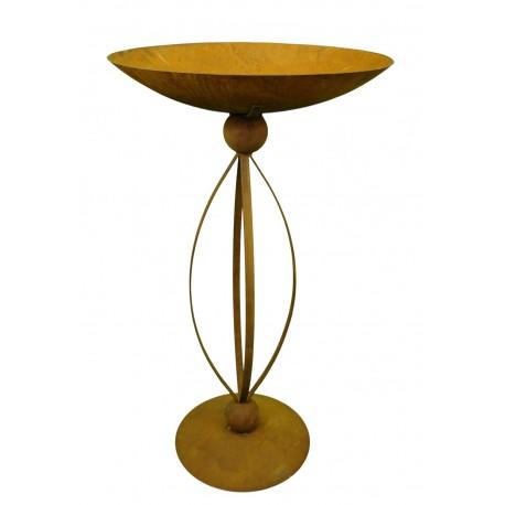 edelrost st nder 100 cm hoch inklusive pflanz schale 40 cm metallmichl. Black Bedroom Furniture Sets. Home Design Ideas