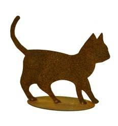 Edelrost-Katzenbaby Tom 17 x 15 cm