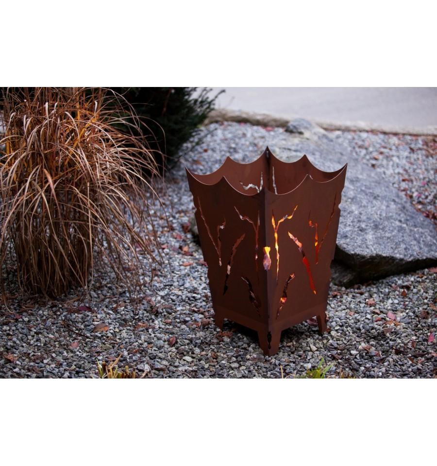 feuerkorb mystikfeuerschalenfeuer metallmichl aus edelrost. Black Bedroom Furniture Sets. Home Design Ideas