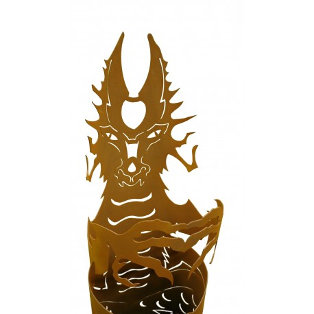 Fire dragon small 123 cm high