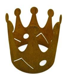 Krone Edelrost in 4 Größen (ohne Boden)