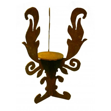 Rokokoständer für Windlichter bis D8,5 cm