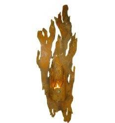 """Wandlicht """"Fackel"""" für Kerzen 54 cm (klein)"""