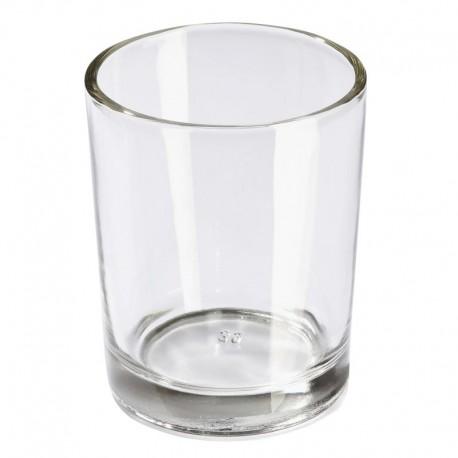 Glas Teelicht Höhe 6,7 Ø 5,5 cm
