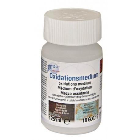 Oxidationsmedium blaugrün          Ergebnis blaugrün  125 ml