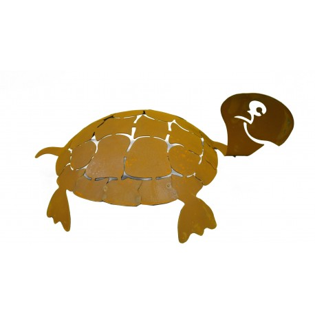 """Schildkröte """"Archie"""" aus Edelrost"""
