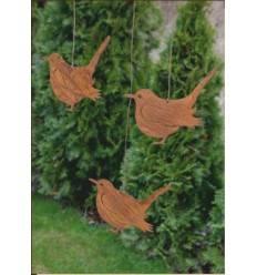 Tiere und tierfiguren in edelrost deko vom metallmichl for Gartenobjekte aus metall