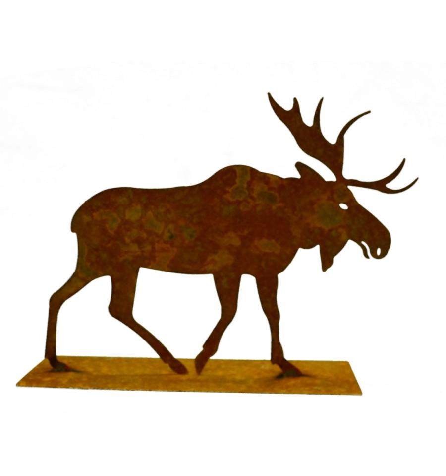 Weihnachtsdeko elch metall bildersammlung for Edelrost auf kupfer