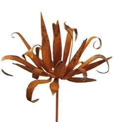 Wildflower Gartenstecker groß - Blüte mit spitzen unregeläßigen Blüten