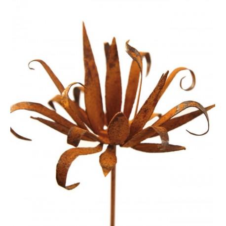 Wildflower Stecker klein - Blüte mit spitzen unregeläßigen Blüten zum Legen