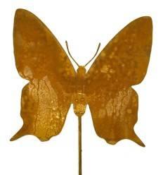 Schmetterling -Tamara- 20 x 20 cm auf Stab 100 cm