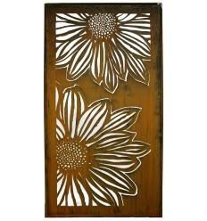 sichtschutzw nde und paraventsmetallkunst xxl metallmichl. Black Bedroom Furniture Sets. Home Design Ideas