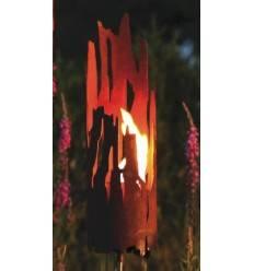 Treibholz Windlicht 45 cm hoch Gartenstecker