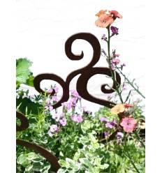 Rouille Déco Jardin Connecteur écureuil 2er Set Gartendeko-Parterre de fleurs DECO