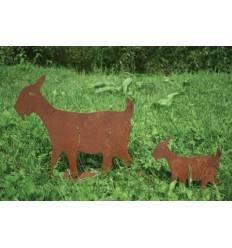 Gartenfiguren Groß Und Tierfiguren In Edelrost Günstig Online Kaufen