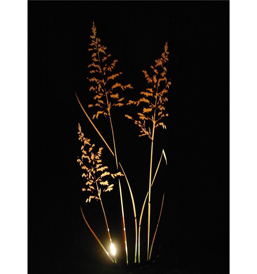 Gras s ule 160 cm hoch halbrund 65 cm metallmichl for Wohnzimmertisch 65 cm hoch