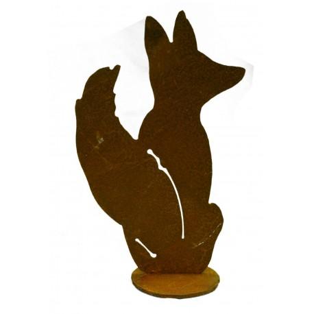 kleiner Fuchs sitzend Höhe 22 cm