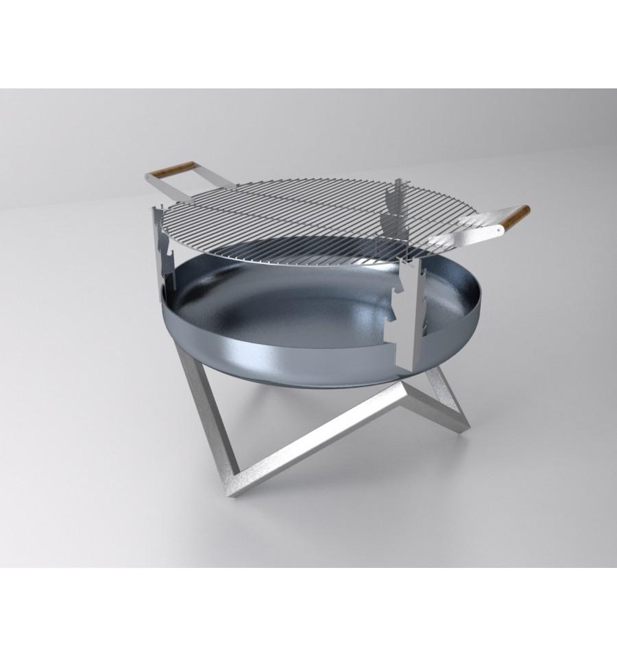 grill aufsatz f r svenskav feuerschalen 63 0 cm durchmesser. Black Bedroom Furniture Sets. Home Design Ideas