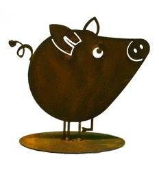 Schweinchen -Rosa- Glücksschwein