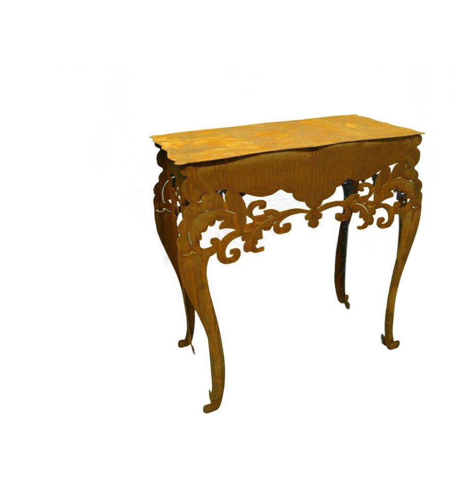 tisch barock hoch h 97 cm b 71 cm t 40 cm. Black Bedroom Furniture Sets. Home Design Ideas