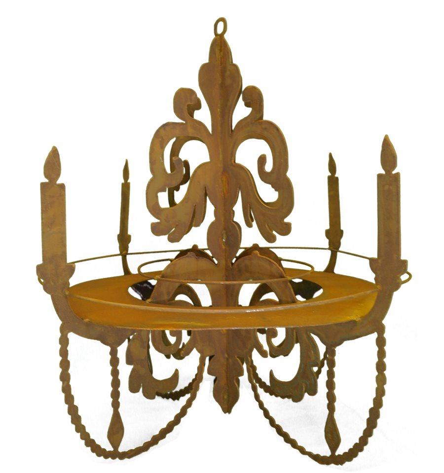 kronleuchter 3d zum aufh ngen mit ablage h 60 cm b 64 cm. Black Bedroom Furniture Sets. Home Design Ideas