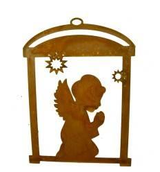 """Fensterbild betender Engel """"Resa"""", Höhe 20 cm"""