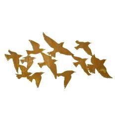 "Wandbild Vogelschwarm ""Flock of Birds"" 100 cm lang"
