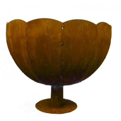 Rost Schale -Ramses- 30 cm Durchmesser von Badeko Verkauf durch Metallmichl