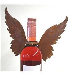 Flaschenflügel zum Wickeln Variante B Flügel nach oben 17cm, Band 15cm