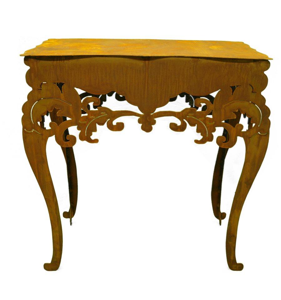 Tisch Barock Niedrig H 97 Cm B 71 Cm T 40 Cm