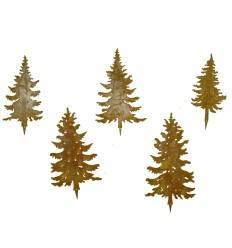 TannenStecker Set 5 Bäume 20 bis 25cm