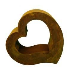 Metallobjekt Herz groß Höhe 61,15 zum Bepflanzen