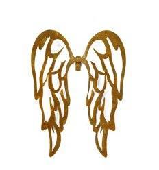 filigrane Flügel nach unten zum Einhängen in Gläser Höhe 18 cm