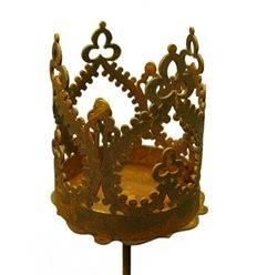 """""""Crown"""" Krönchen zum Stecken Ø 9 cm"""