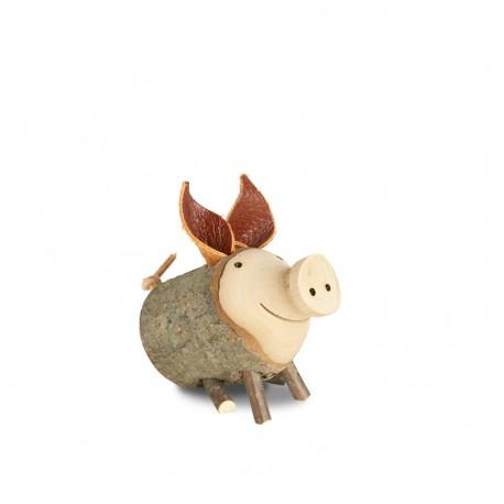 """Schwein Gr. 2 """"Trudie"""" sitzend ø 4 - 5 cm"""