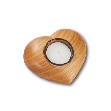 Tischleuchter Herz 11 x 9 cm