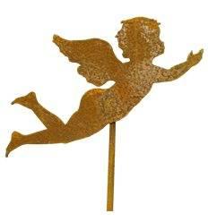 Engelchen fliegend 15cm auf Stab 45cm