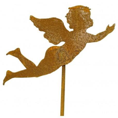 Engelchen fliegend 15cm auf Stab 60cm