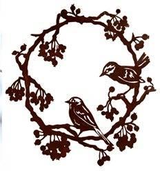 Kranz mit 2 Vögeln und Beeren zum Hängen d 40cm,