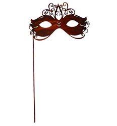 Gartenstecker Maske 19 cm breit