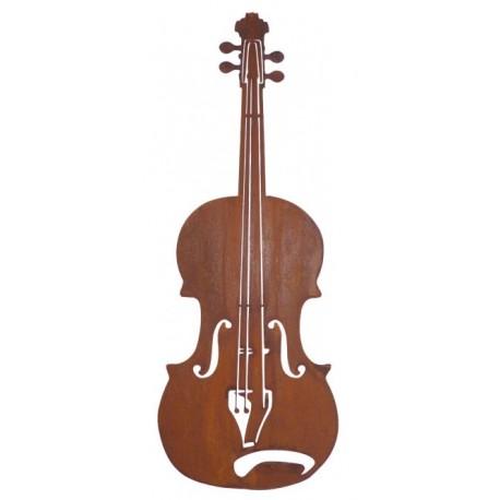 Geige als Fensterdeko - Geschnek für Musiker