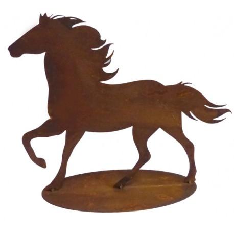 laufendes Rost Pferd - Fridolin -