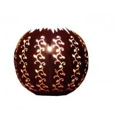 Wandlampe -Strecki- halbe Kugel 30cm