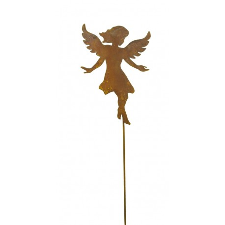 """kleiner fliegender Engel """"Anny"""" 15 cm hoch auf 40 cm Stab"""