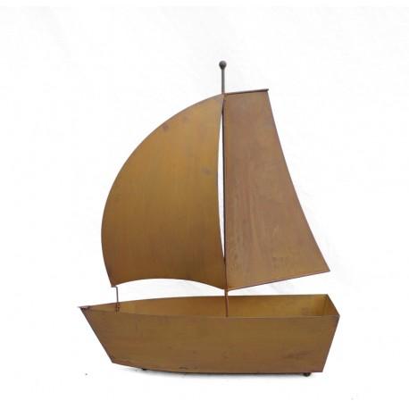 Segelboot 3D - zum Bepflanzen 83 cm hoch