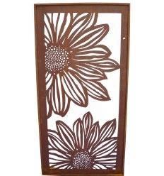 sichtschutzw nde und paraventsmetallkunst xxl metallmichl edelrost deko metallmichl. Black Bedroom Furniture Sets. Home Design Ideas