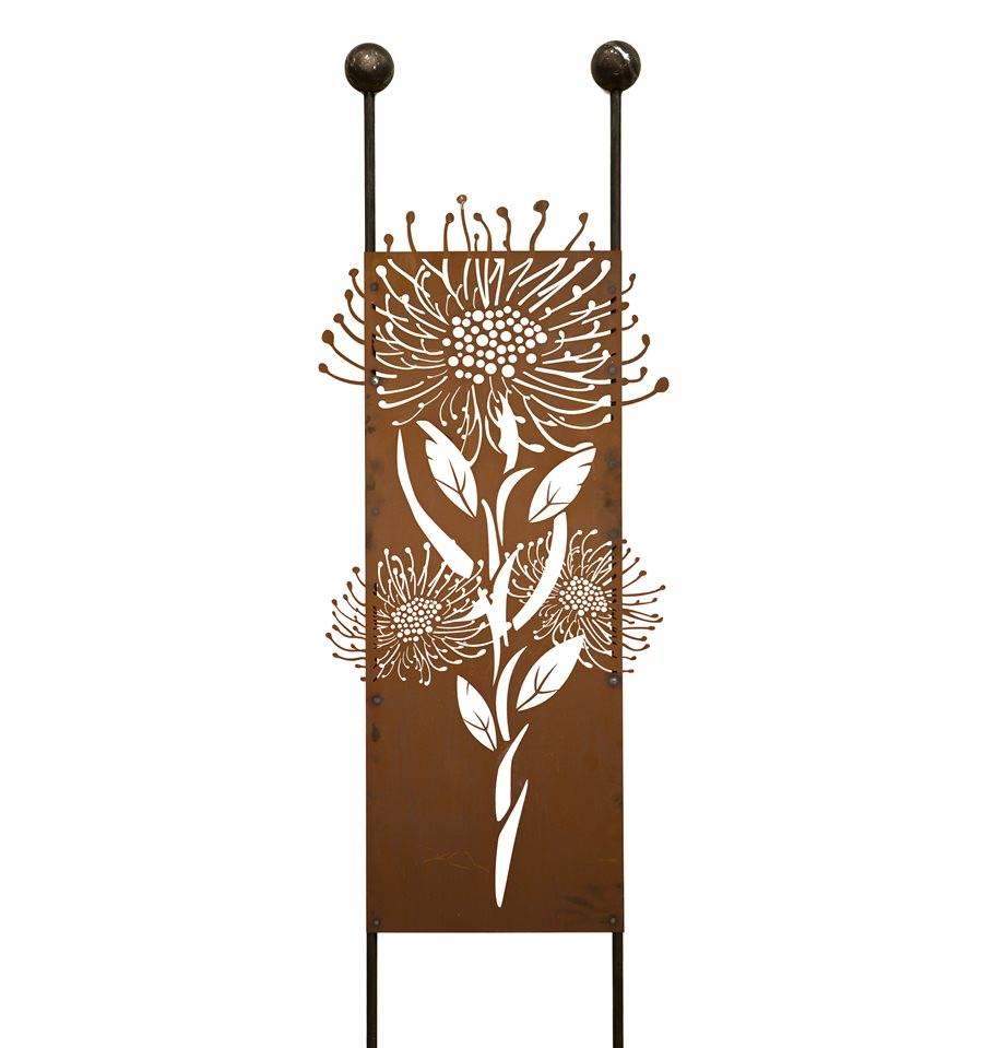 Schone Rost Gartenstecker Pusteblume Hohe 208cm Breite 54cm